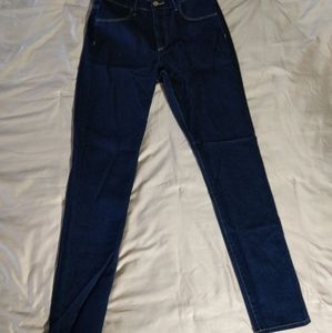 H&M Woman High Waist Skinny Ankle Jeans